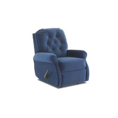 Virgo Rocking Reclining Chair in Indigo - 012013378076