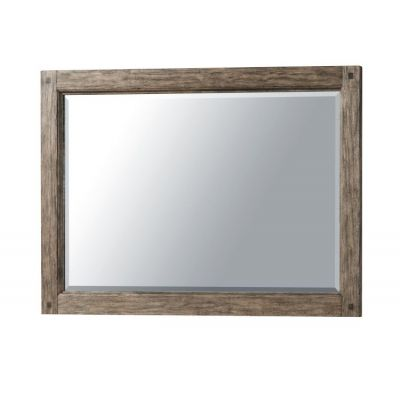 Riverbank Mirror in Brown - 012013381366