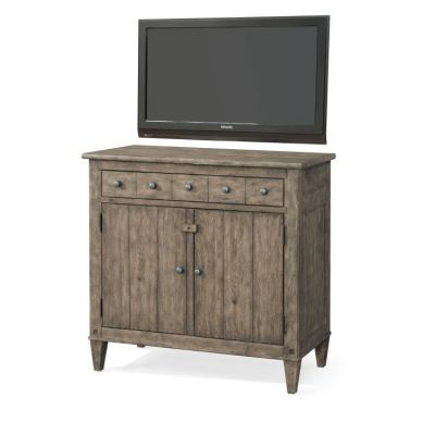 Riverbank High Water Media Chest in Brown - 012013381403