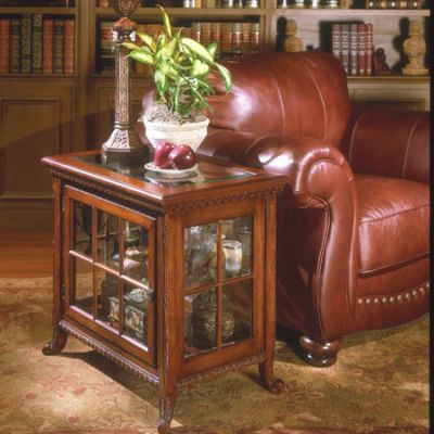 Chopin Plantation Cherry Side Chair Curio - 339024