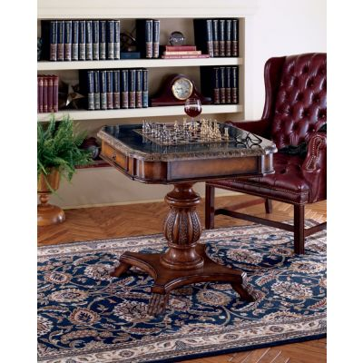 Fossil Stone Game Table - 506070