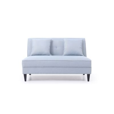 Settee in Light Blue - G054-S
