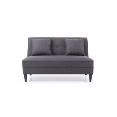 Settee in Charcoal - G055-S