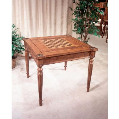 Vincent Antique Cherry Multi-Game Card Table - 837011