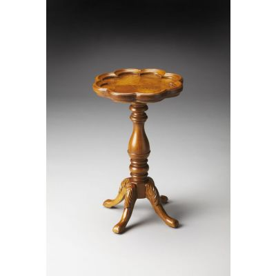 Whitman Olive Ash Burl Scatter Table - 923101
