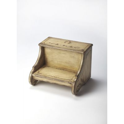 Sussex Gilted Cream Step Stool - 934238