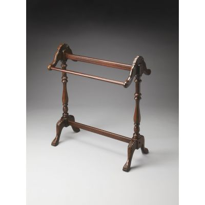 Joanna Plantation Cherry Blanket Stand - 991024