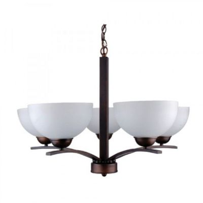 Five Light Chandelier - 107-5U-AWCF