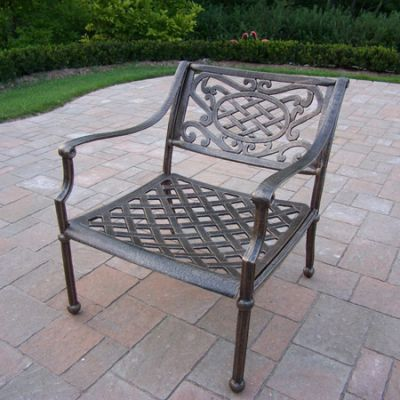 Tacoma Cast Aluminum Deep Seat Club Arm Chair - 1121-AB