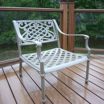 Tacoma Cast Aluminum Deep Seat Club Arm Chair - 1121-BS