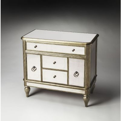 Justine Mirrored Console Chest - 1131146