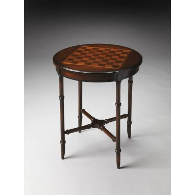 Somerset Plantation Cherry Game Table - 1138024
