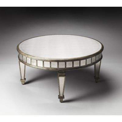 Garbo Mirrored Cocktail Table - 1140146