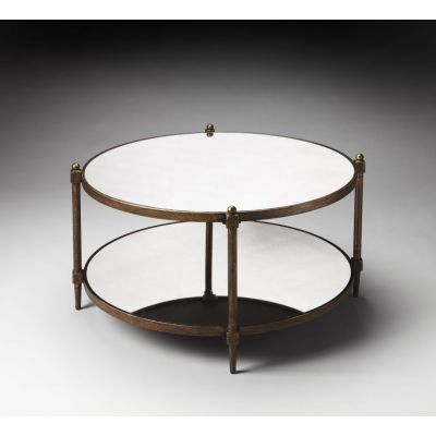 Nora Mirrored Cocktail Table - 1148025