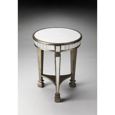 Garbo Mirrored End Table - 1149146