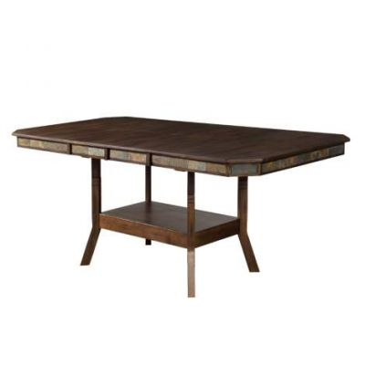 Double Butterfly Left Facing Dining Table - 1151AC
