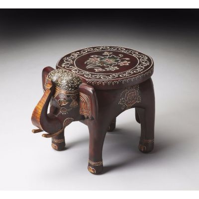 Botswana Hand Painted Accent Table - 1166290