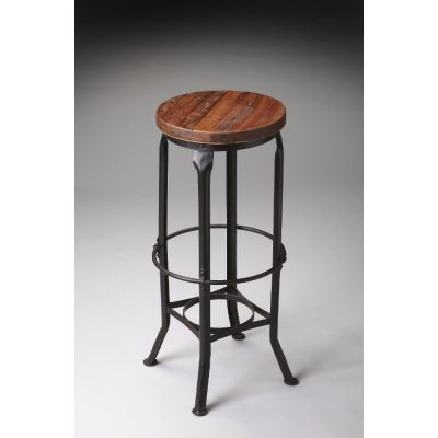 Abbott Industrial Chic Bar Stool - 1167025