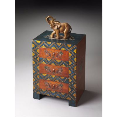 Hand Painted Accent Chest - 1173290