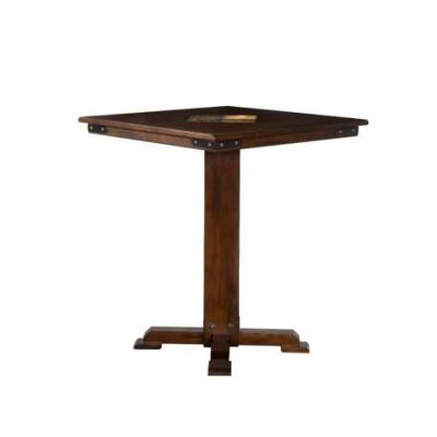 Santa Fe Pub Table with Slates, 42