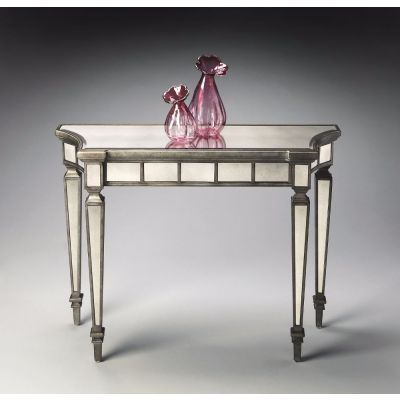 Garbo Mirrored Console Table - 1251146