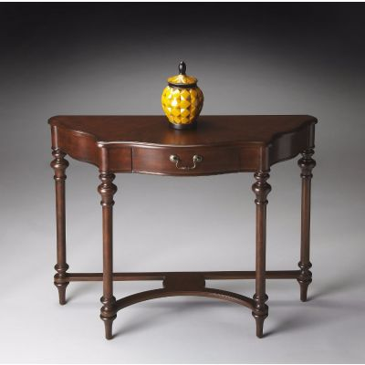 Morency Plantation Cherry Console Table - 1263024