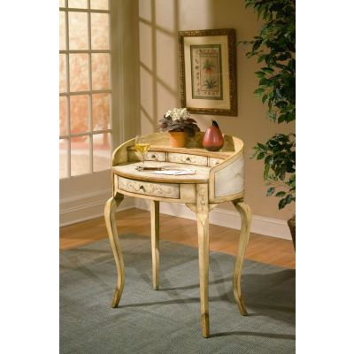 Damosel Tuscan Cream Hand Painted Ladies Writing Desk   1335041