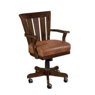 Game Chair with Casters, Cushion Seat - 1412DC