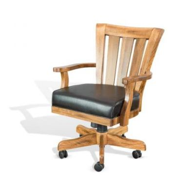 Game Chair with Casters, Cushion Seat - 1412RO