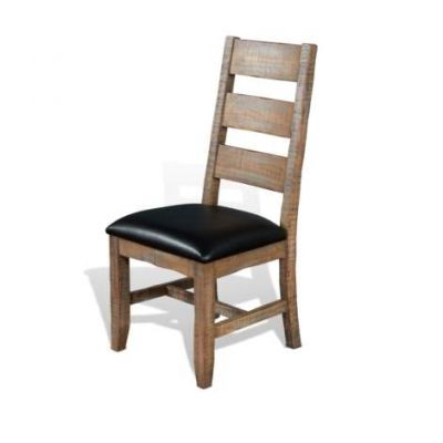 Ladderback Chair with Cushion Seat - 1460DW