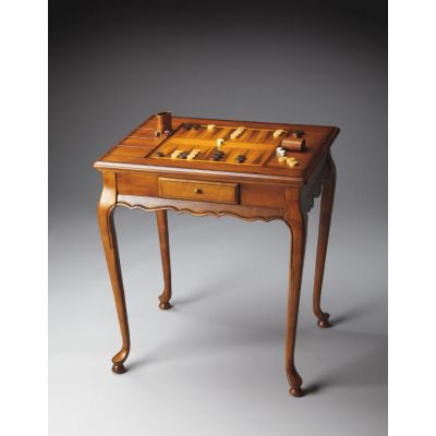 Bannockburn Olive Ash Burl Game Table - 1694101
