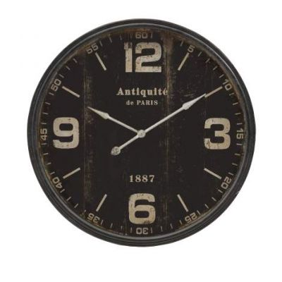 Robertson Black Wall Clock - 18301
