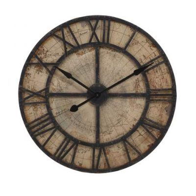 Bryan Map Wall Clock - 18308
