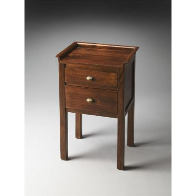Gabriel Solid Wood Side Table - 1840290