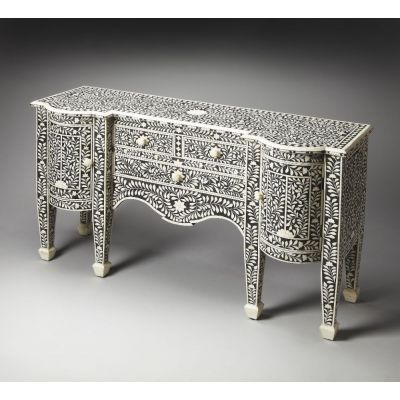 Victoria Black Bone Inlay Buffet - 1843070