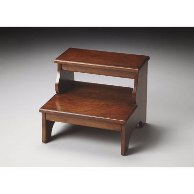Melrose Chestnut Burl Step Stool - 1922108