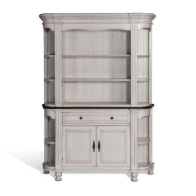 French Country Hutch and Buffet - 1956FC