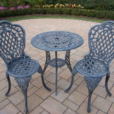 Mississippi  3 Piece  Bistro Set With 2 Chair