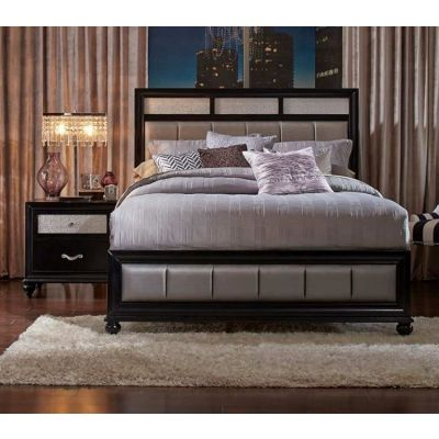 Barzini 2 Piece Queen Bedroom Set in Black - 001584_Kit