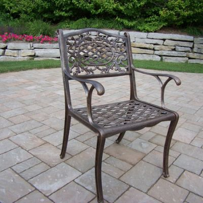 Mississippi Cast Aluminum Arm Chair - 2012-AB