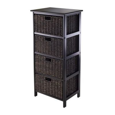 Omaha Storage Rack with 4 Foldable Baskets - 20418