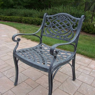 Mississippi Cast Aluminum Durable Arm Chair - 2109-VGY