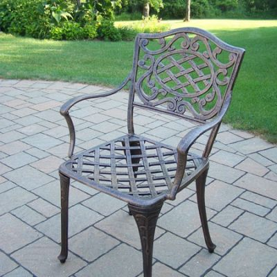 Mississippi 4 Cast Aluminum Arm Chair( Set Of 4 ) - 2112-AB