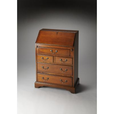 Danforth Olive Ash Burl Secretary - 2118101