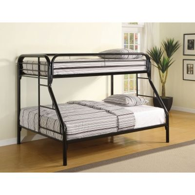 Twin Over Full Bunk Bed with Side Ladders - 2258K