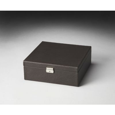 Lido Brown Leather Storage Case - 2732034