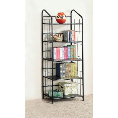 Casual 5-Tier Metal Bookcase - 2895