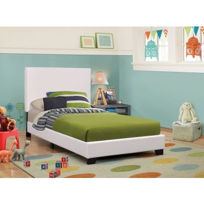 Mauve Twin Bed in Black - 300559T