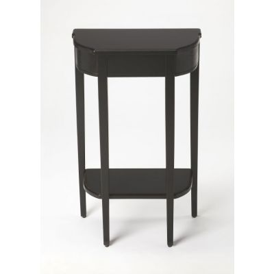 Wendell Black Licorice Console Table - 3009111