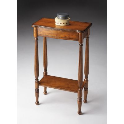 Whitney Antique Cherry Console Table - 3011011